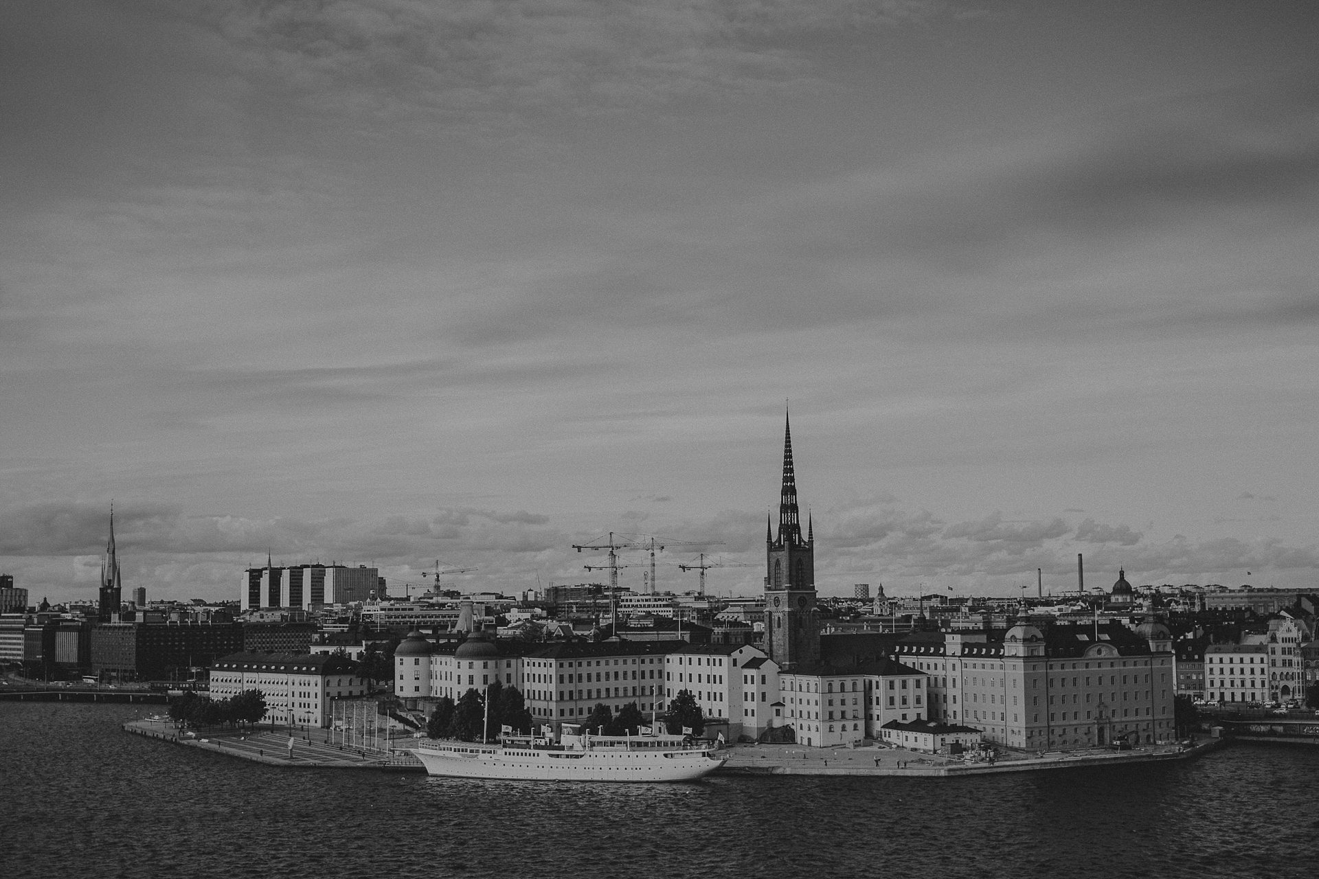 Stockholm Gamla stan city view