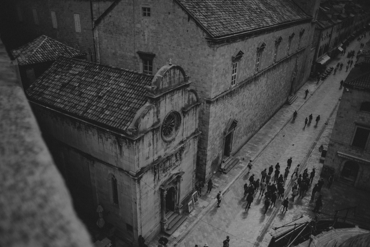 dubrovnik old town photography
