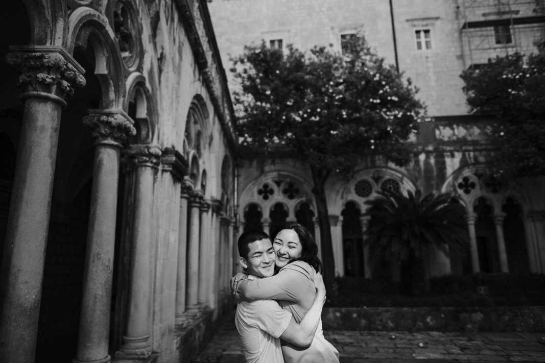 engagement Dominican monastery Dubrovnik